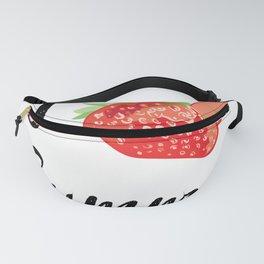 I love Summer Strawberry Fanny Pack