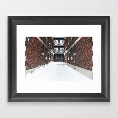Hidden Framed Art Print