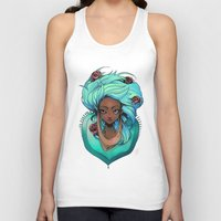 mint Tank Tops featuring Mint by Natasja van Gestel