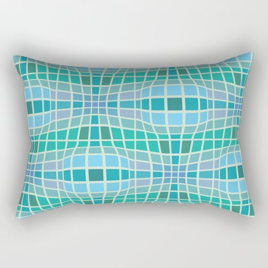 Protrusion and retraction - Optical Game 18 Rectangular Pillow