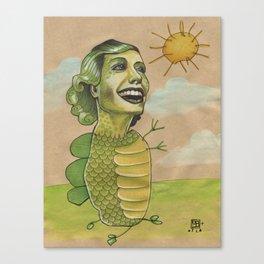 SUNSHINE DINO Canvas Print