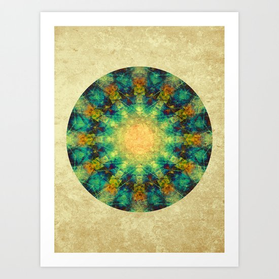 Time Wheel Art Print