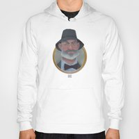 indiana jones Hoodies featuring Henry Jones Sr. of Indiana Jones fame. by wwww