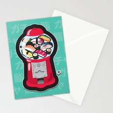Gumball Sushi   ガチャ ガチャ 鮨 Stationery Cards