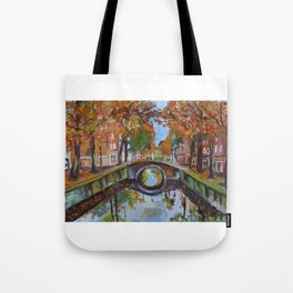 Bridge in Delft Tote Bag