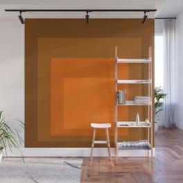 Block Colors - Orange Wall Mural