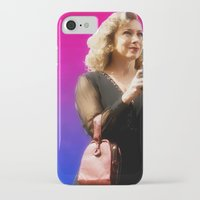 river song iPhone & iPod Cases featuring Doctor Song by Taylor Bookout
