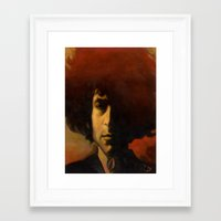 dylan Framed Art Prints featuring Dylan by GDoobwa