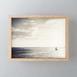 Harbor Island Framed Mini Art Print