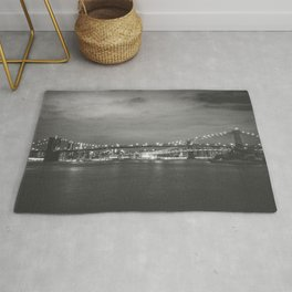 New York City Nights Across the River Rug