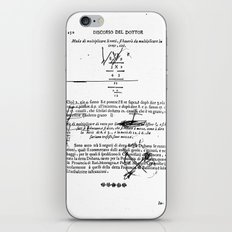 solo nero 3 iPhone & iPod Skin