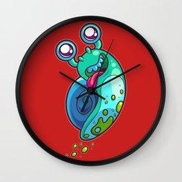 Flight of the Snail Wall Clock