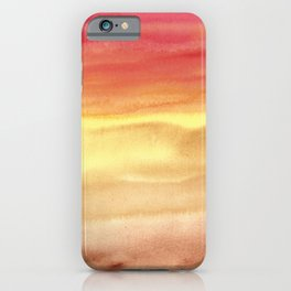 Sky And Sand Dunes iPhone Case