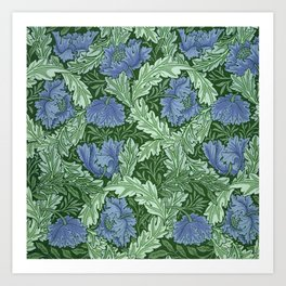 "William Morris ""Wreath"" Art Print"