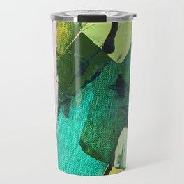 Hopeful[4] - a bright mixed media abstract piece Travel Mug
