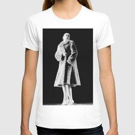 Woman In Fur T-shirt
