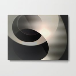 Abstract 1 Metal Print