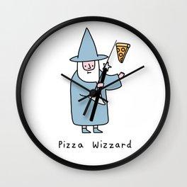 Pizza Wizzard Wall Clock