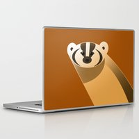 badger Laptop & iPad Skins featuring badger by Thomas