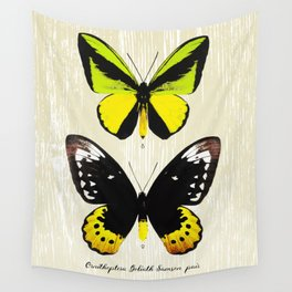 Butterfly07_Ornithoptera goliath samson Wall Tapestry