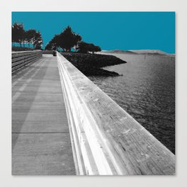 San Francisco Walkway Canvas Print