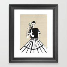Henri Matisse inspired fashion Framed Art Print