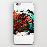mars iPhone & iPod Skins featuring Mars by DizzyNicky