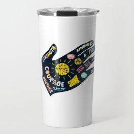 Positivity – Helping Hand Travel Mug