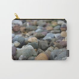 Stones on the Beach Carry-All Pouch