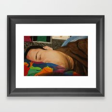 Morning Portrait (Self Portrait) Framed Art Print