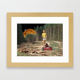 Toro Cut Framed Art Print