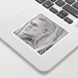 Elf Archer Sticker