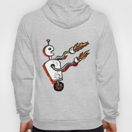 Flamethrower Bot Hoody