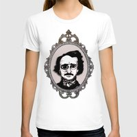 edgar allan poe T-shirts featuring Edgar Allan Poe by Michael J.