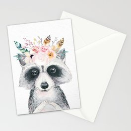 Forest Raccoon by Nature Magick Stationery Cards