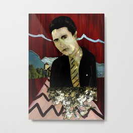 I'll See You Again In 25 Years, Agent Cooper. Metal Print