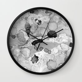 Design 117 Greyscale Abstract Wall Clock
