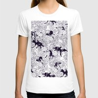 flowers T-shirts featuring Hide and Seek by nicebleed