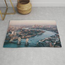 London Tower Bridge Cityscape (Color) Rug