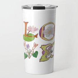 Love letters Travel Mug