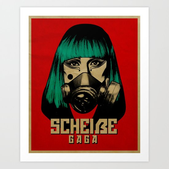Scheiße Part 2: Don't Speak Scheiße Art Print