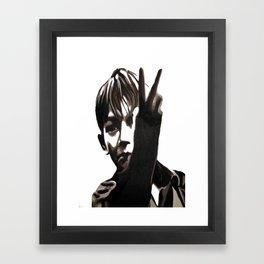 Kes  Billy Framed Art Print