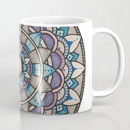 Cool tone mandala Coffee Mug