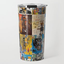 Basquiat Montage Travel Mug