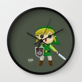 Link to the Rescue Wall Clock