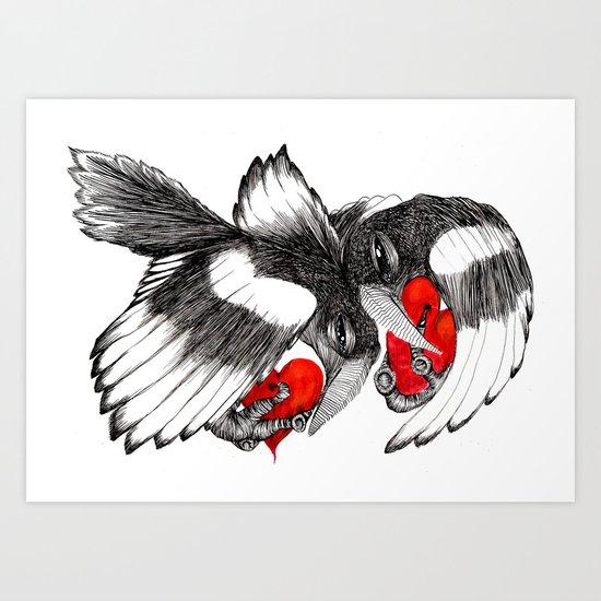 Two for Joy... Art Print