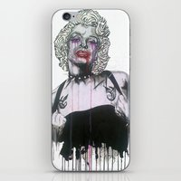 celebrity iPhone & iPod Skins featuring Celebrity by R.A.Carrie