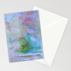 Words and Water Paint 3 Stationery Cards