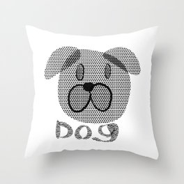 Dog 575 Throw Pillow
