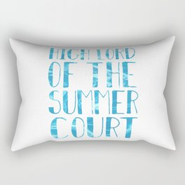 High Lord of the Summer Court Rectangular Pillow